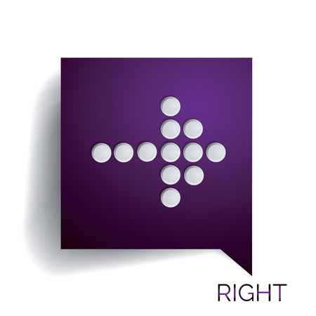 inet: Right arrow