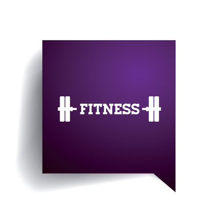 healthy exercise: Fitness and Healthy Exercise Word