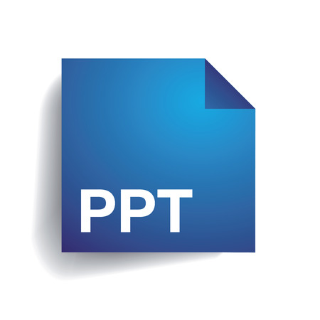 uncompressed: Ppt folder icon Illustration