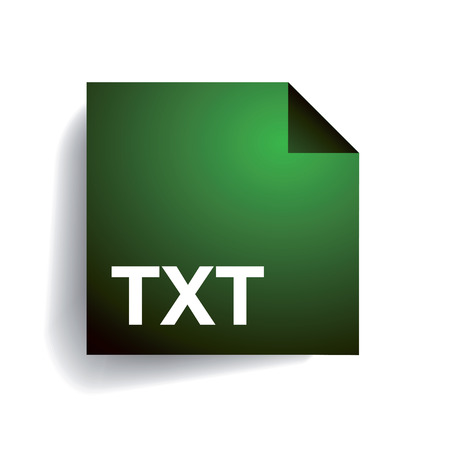 txt: Folder icon Txt Vettoriali
