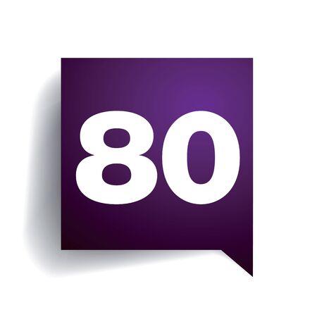 number ten: N�mero burbuja diez discurso Vectores