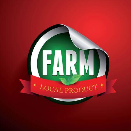 preservatives: Etiqueta del producto local de Fram o pegatina