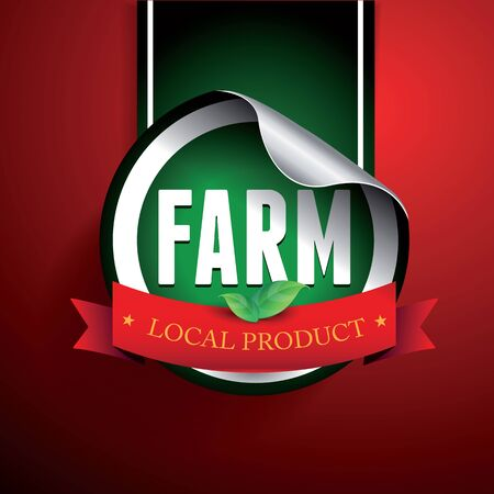 usda: Fram local product label or sticker