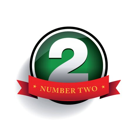 two dimensional shape: Number two