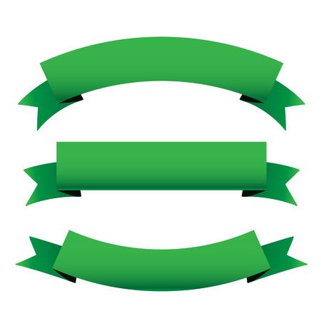 green ribbon: Green ribbon set