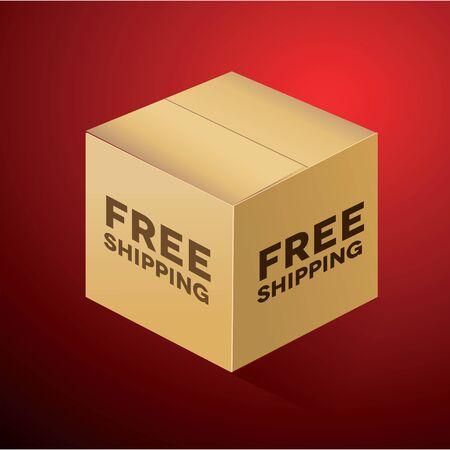 gratis: Free Shipping Box