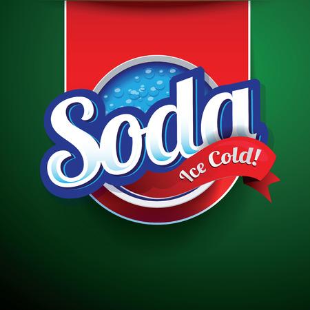 Retro Soda Design vector Vector