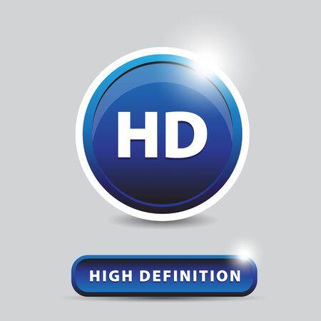 definición: HD - Botón de alta definición