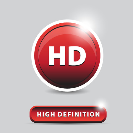 definition: HD - high definition button