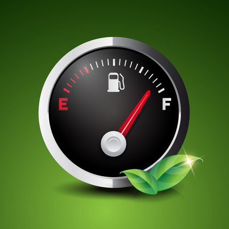 biofuel: Renewable Biofuel Icon vector Illustration