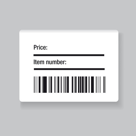Barcode label Stockfoto - 39075201