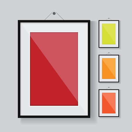 Vector frame leeg