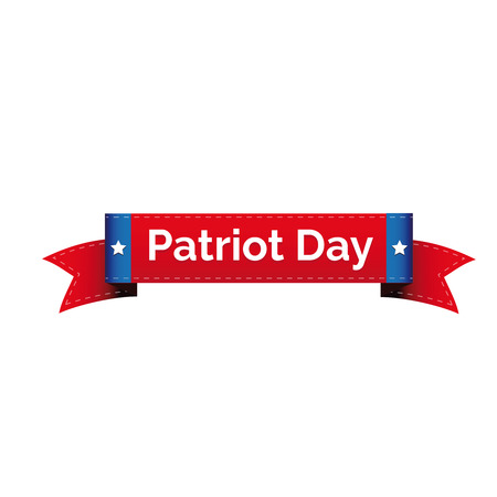 Patriot day ribbon