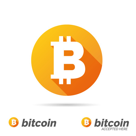 Bitcoin symbol Illustration