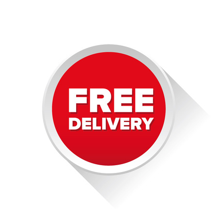 lading: Free delivery vector