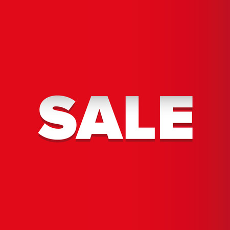 red backgrounds: Sale vector