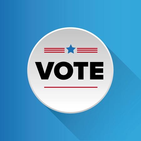 nomination: US Vote badge