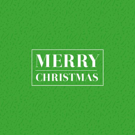 background design: Merry Christmas vector lettering