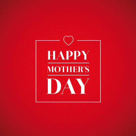 day: Happy Mothers Day vector Illustration
