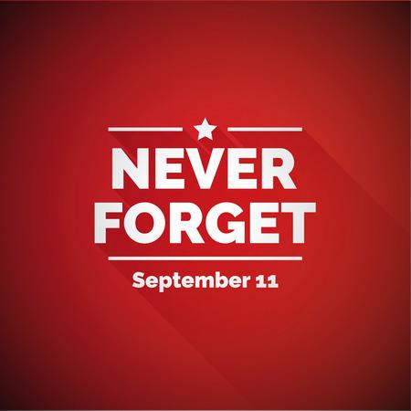 Never forget 911 concept Reklamní fotografie - 47784479