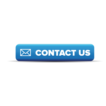 contact information: Contact us vector icon on button Illustration