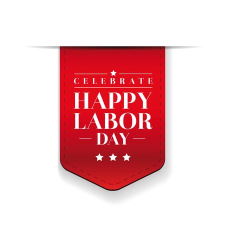 labor: Happy Labor day vector
