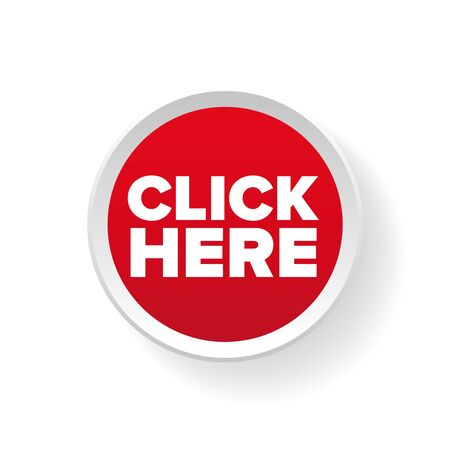 join here: Click here button vector