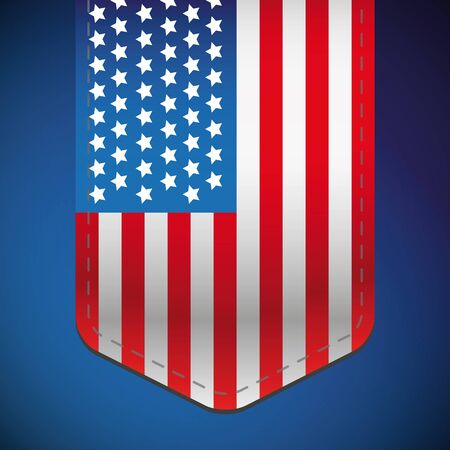 vector raster background: USA flag background vector