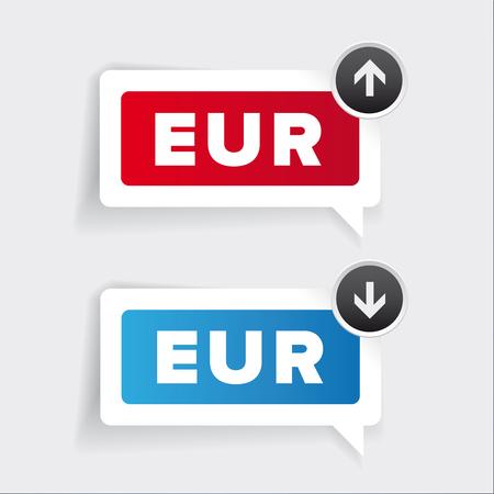 window display: Euro - currency exchange