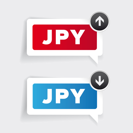 window display: Japan Yen - currency exchange