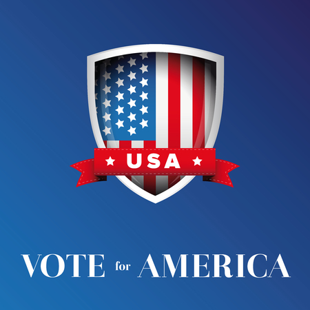 republicans: Vote for America banner or poster