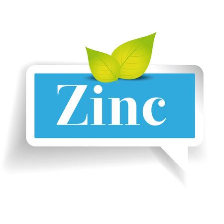 zinc: Zinc label vector