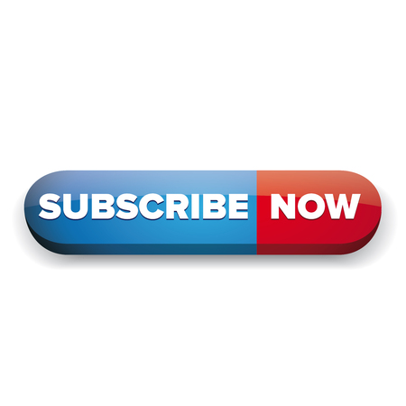 precedency: Subscribe now button red and blue vector Illustration