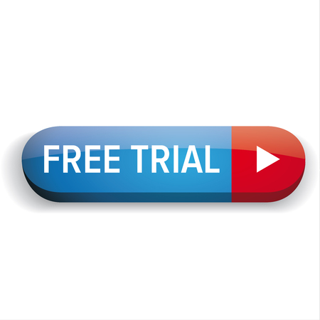 trial: Free trial button vector