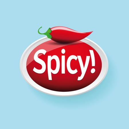 jalapeno: Spicy jalapeno or chili vector
