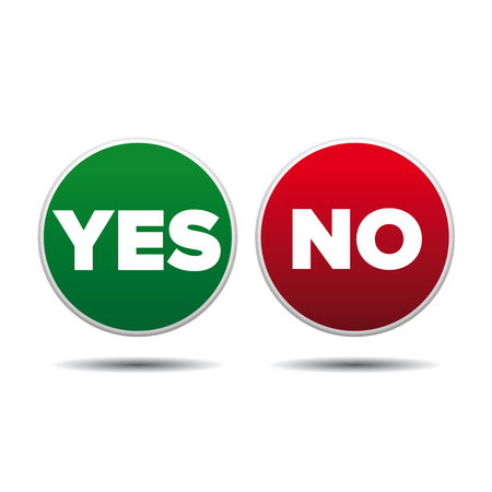 yes or no: Yes or No label vector