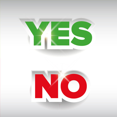 assent: Yes or No label vector