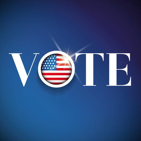 Stem voor Amerika - verkiezing poster