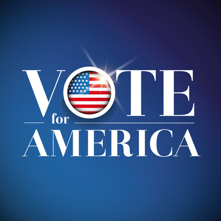 vote: Vote for America - election poster