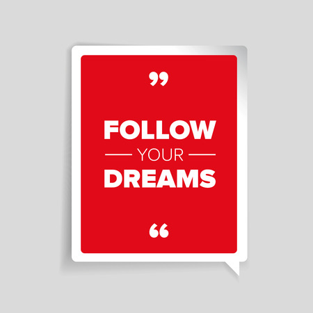 motivator: Follow your dreams poster