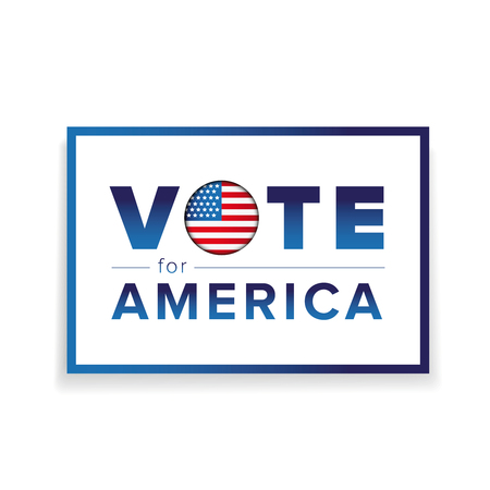 Vote for America Illustration
