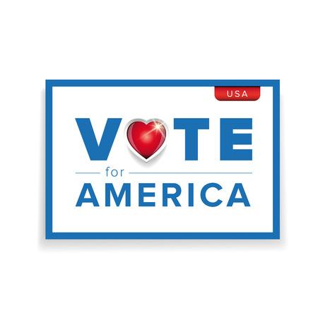 pealing: Vote for America Illustration