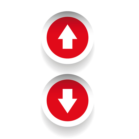 escalation: Up-down arrow graphics  buttons