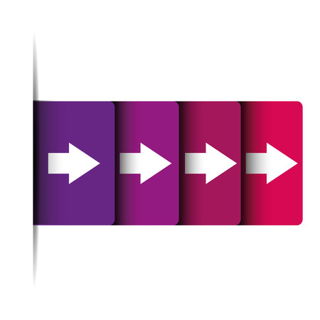 raise the thumb: Right arrow graphics  buttons Illustration