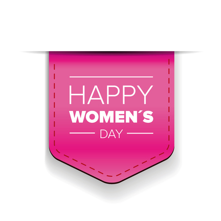 greeting cards International Women s Day: Happy womens day pink ribbon