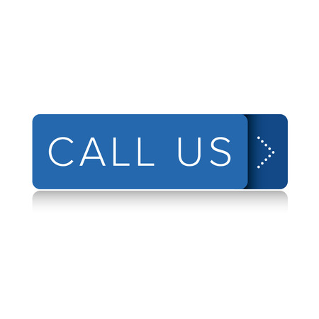 get in touch: Call us button vector