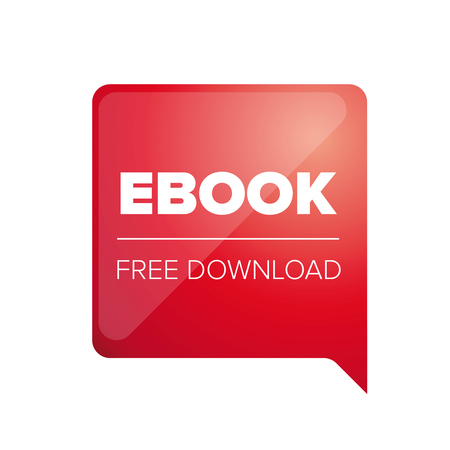 free education: Ebook free download red Illustration