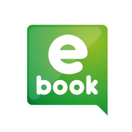 e book: E -book. Electronic Library icon