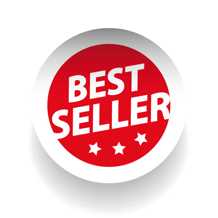 choise: Best seller sticker vector