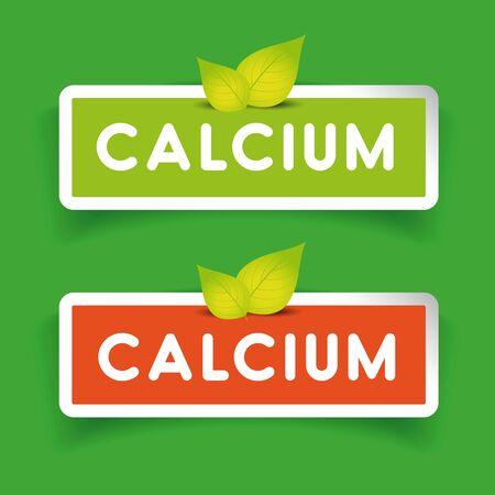 Calcium label set